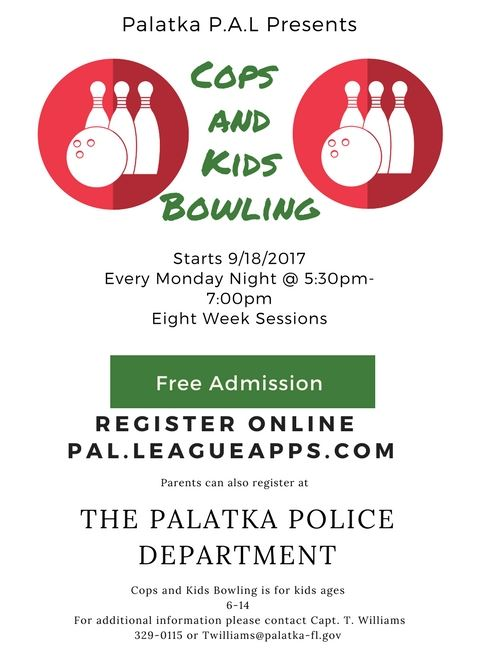 2017 Cops And Kids Bowling