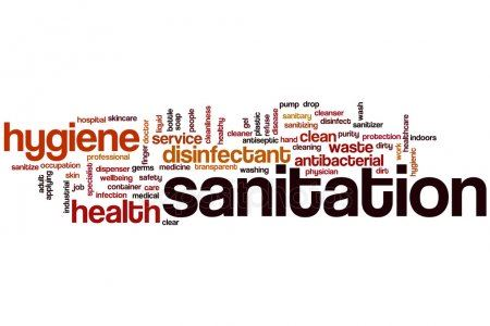 Sanitation Words Photo