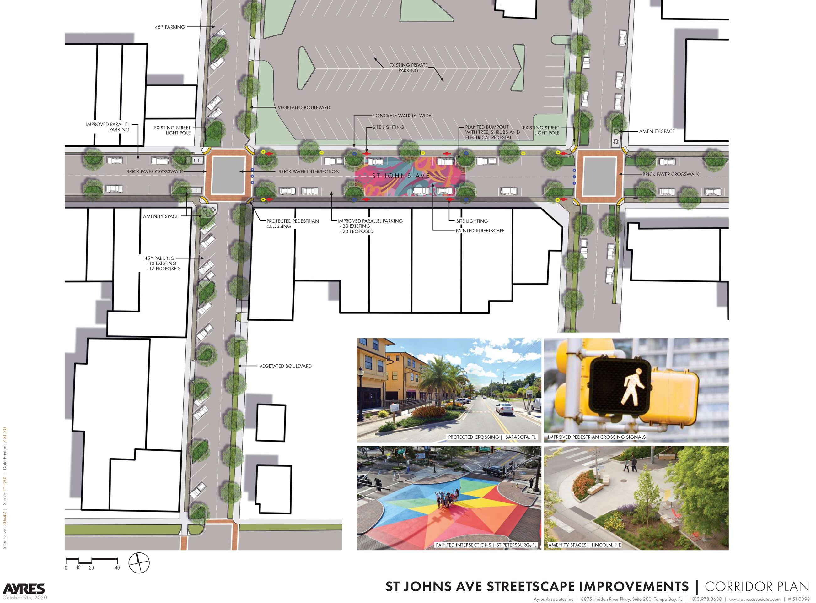 ST JOHNS AVE _Conceptual Design_Corridor Plan